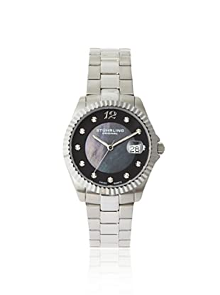 Stuhrling Original Women's 498.111127 Lady Clipper Mother of Pearl Silver-Tone Stainless Steel Watch