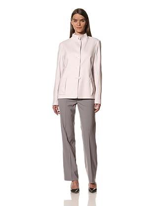 JIL SANDER Women's Wool\/Linen Sretch Jacket