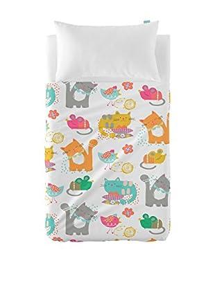 MOSHI MOSHI Juego De Sábanas Cat & Mouse