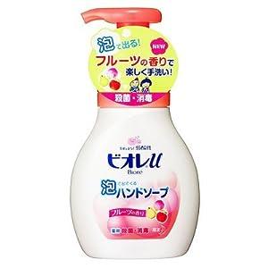【クリックで詳細表示】ビオレu 泡で出てくるハンドソープ フルーツの香り ポンプ 280ml: ヘルス&ビューティー