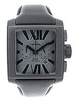 Men'S Ceo Grey Dial Black Leather (Ce3014)