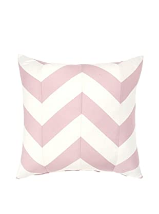 Image by Charlie Taupe Decorative Pillow, Peachskin/Off-White, 17