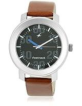 3121Sl01 Brown/Black Analog Watch Fastrack