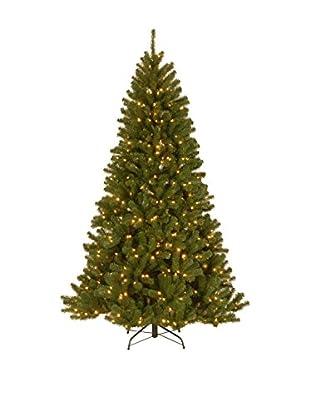 National Tree Company 9' North Valley Spruce Hinged Tree