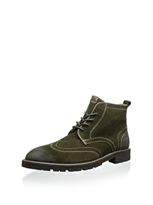 Florsheim Men's Gaffney Wingtip Boot (Loden Suede)