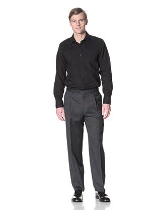 Hart Schaffner Marx Men's Pindot Trousers (Navy)