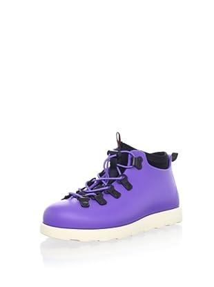 Native Kid's Fitzsimmons Boot (Toddler/Little Kid) (Jellybean Purple)