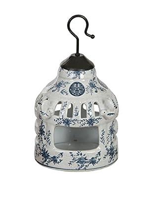 Winward Chinese Birdhouse, Blue/White