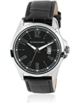 Giordano Analog Black Dial Men's Watch - 1643-01