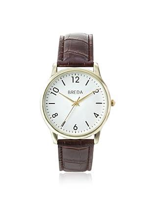 Breda Men's 8169 Andrew Brown/White Alloy Watch