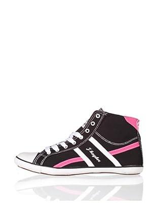 J´hayber Zapatillas Lona Lemiri (Negro)