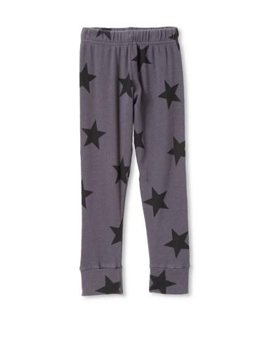 NUNUNU Kid's Star Leggings (Dark Grey)