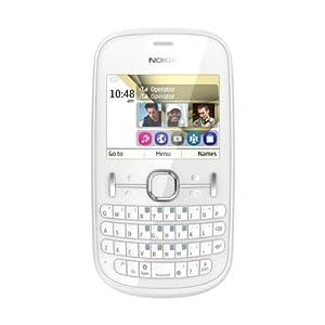 Nokia Asha 200 Dual Sim Mobile Phone -White