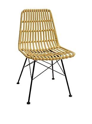 LO+DEMODA Stuhl 2er Set Tropical beige
