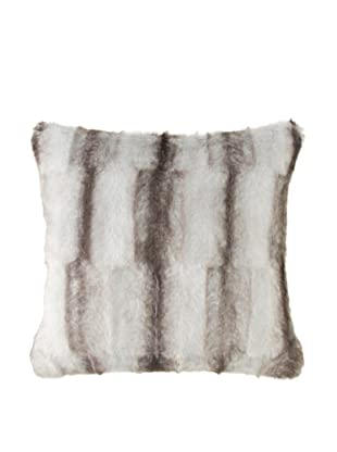 Montague & Capulet Faux Mink Pillow, Grey