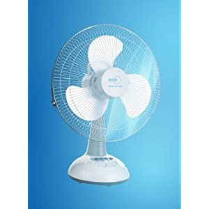 Akari 14inch Rechargeable Fan With LED Light - AK-8082