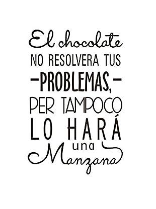 LO+DEMODA Wandtattoo El Chocolate