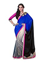 Pikasho Party Wear Cutpatch Saree 8023