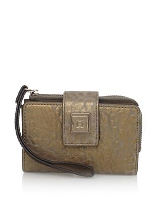 OH by Joy Gryson Women's Tech Wallet, Grey Spice