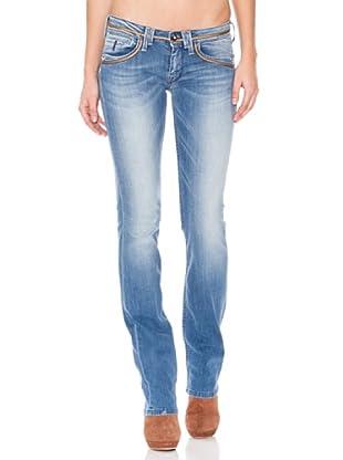 Pepe Jeans London Pantalón Vaquero Candie (Azul Desgastado)