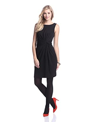 Muse Women's Twisted Waist Dress (Black)