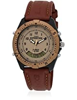 TimexÃ' Expedition Analog-Digital Unisex Watch -Ã' MF13, beige, brown