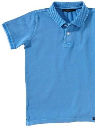 Calvin Klein Jeans Jungen Shirt/ Poloshirt CBP200 J4R35 (Blau(684, Tropical ))