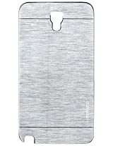 NBD MOTOMO BACK CASE COVER FOR Samsung Galaxy Note 3 Neo N7505 SILVER