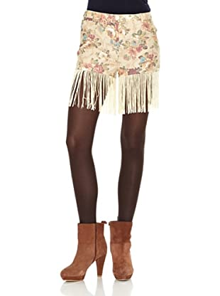 Rare Shorts Printed Fringe Shorts
