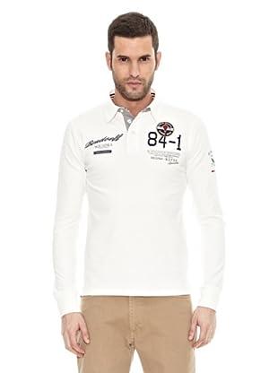 Bendorff Polo Manga Larga (Blanco)