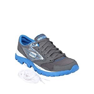 Go Run Grey Running Shoes