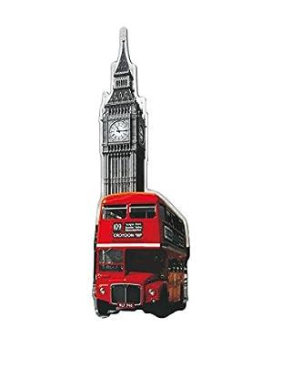 ArtopWeb Panel de Madera London Bus - Westminster