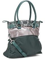 Baggit Crab Hand-held Bag (Green) - 454939