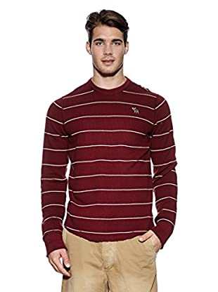 Abercrombie & Fitch Pullover Classic Crew (dunkelrot)
