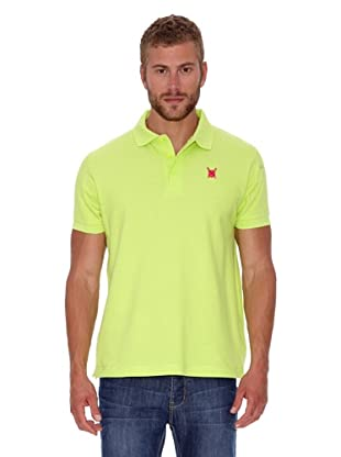 Polo Club Polo Custom Fit Escudo Liso (Verde)