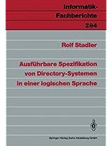Ausführbare Spezifikation von Directory-Systemen in einer logischen Sprache (Informatik-Fachberichte)