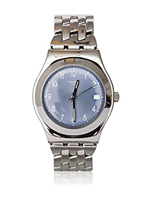 Swatch Quarzuhr Woman FOLLOW WAYS LIGHT BLUE YLS439G 33.0 mm