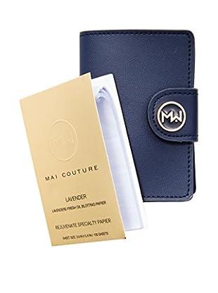 Mai Couture Blot Papier with Wallet, Lavender, 100 Sheets