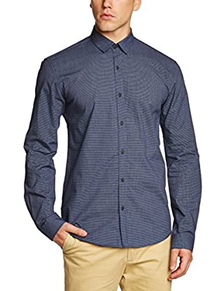 Selected Homme Camisa Hombre Lianyungang (Azul)