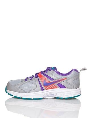 Nike Zapatillas Running Dart 10 Lgg (Plata / Morado)