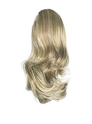Love Hair Extensions Kunsthaar-Pferdeschwanz Percilla mit Krokodilklemme 40,5cm, 10/22 Medium Ash Brown/Beach Blonde