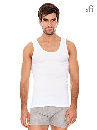 Abanderado Pack x 6 Camisetas Tirantes Sport