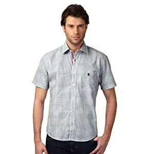 Louis Philippe Neo Slim Fit Cotton Shirt