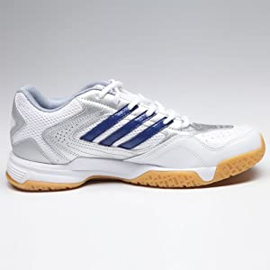 Adidas White Men - Badminton Shoes