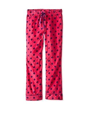 Bottoms Out Gal Women's Polka Dot Micro Fleece Sleep Pant
