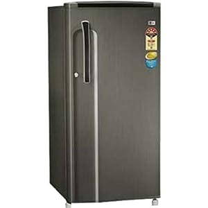 LG GL205KMG5ACIZEBN 190L Refrigerator-Black