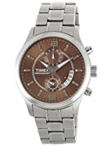 Timex Fashion Chronograph Brown Dial Men's Watch - K902