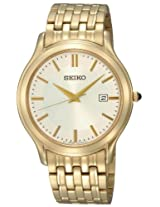 Seiko Analog Gold Dial Men's Watch - SKK704P1