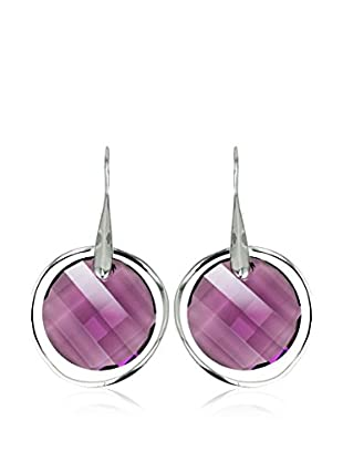 So Charm with Crystals from Swarovski Pendientes  Morado