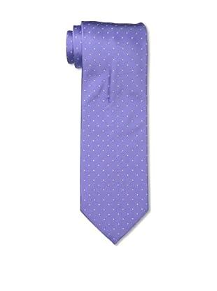 Armani Collezioni Men's Dotted Tie, Purple